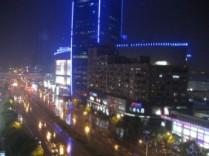 Uitzicht appartement Shanghai 2