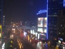 Uitzicht appartement Shanghai 3