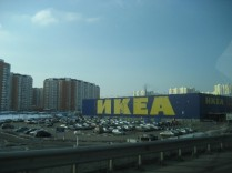 Onze Zweedse vrienden in Moskou